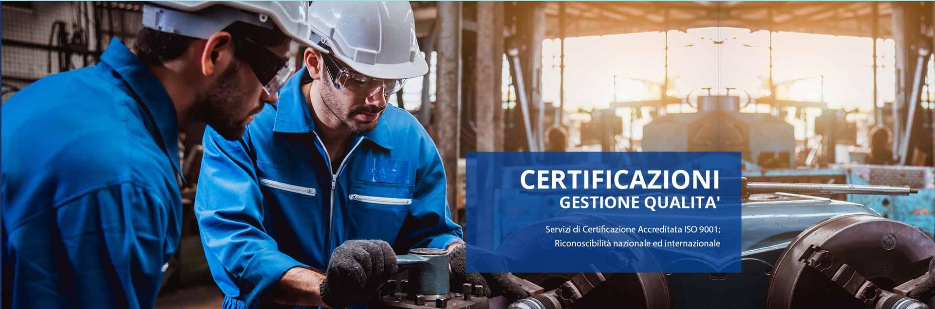 Certificazioni gestione qualita